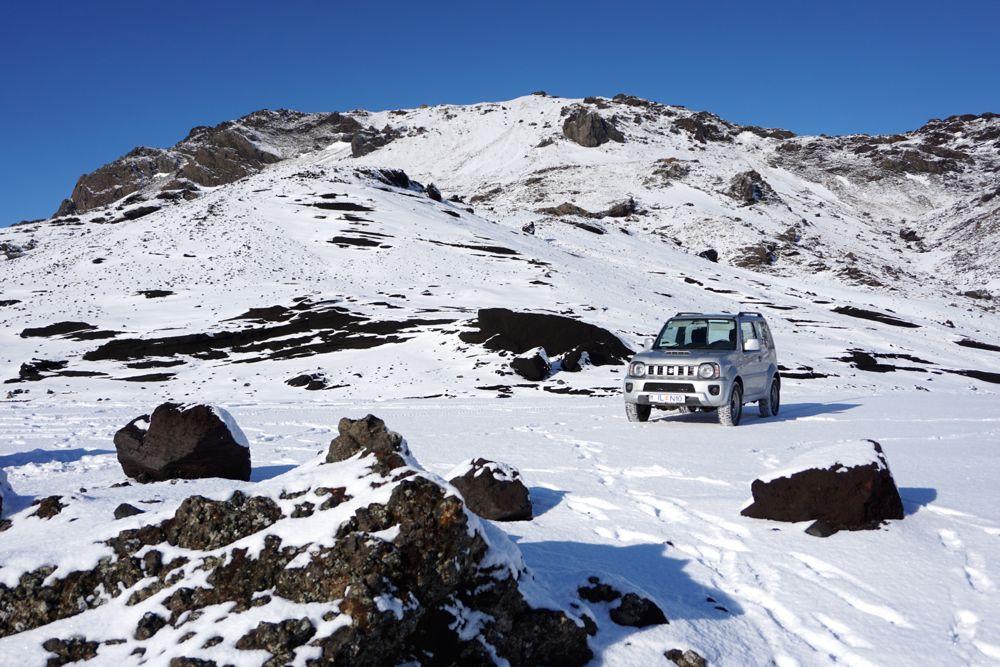 Faut-il louer un 4×4 pour rouler en Islande en hiver?