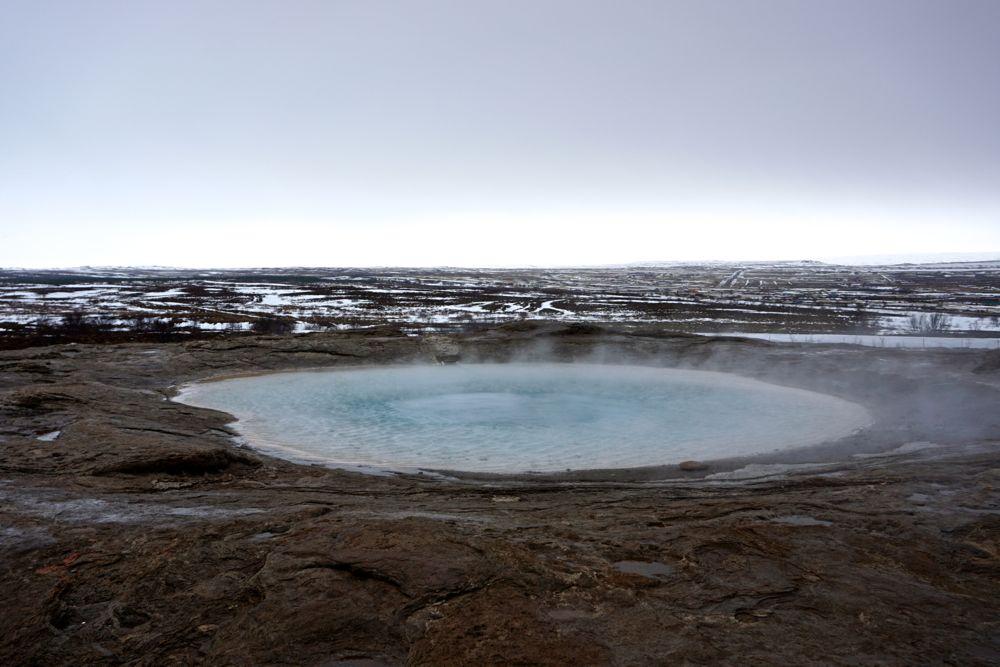 Geysir - Champ géothermique