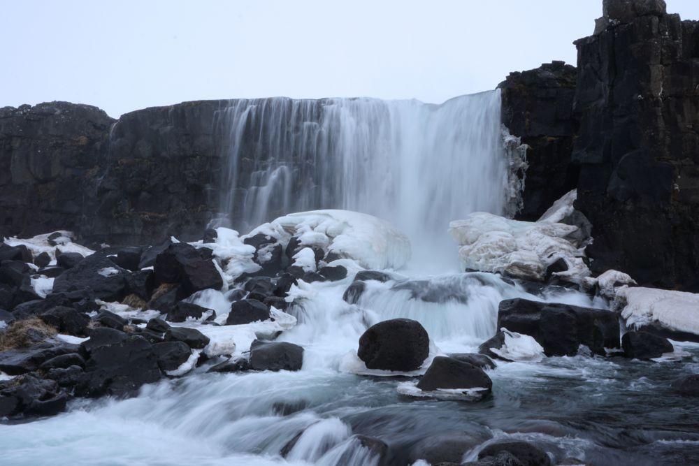 Parc national de Þingvellir - Öxarárfoss