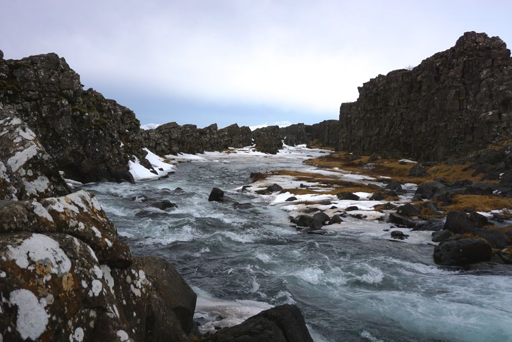 Islande en hiver – Þingvellir, Gullfoss et Geysir