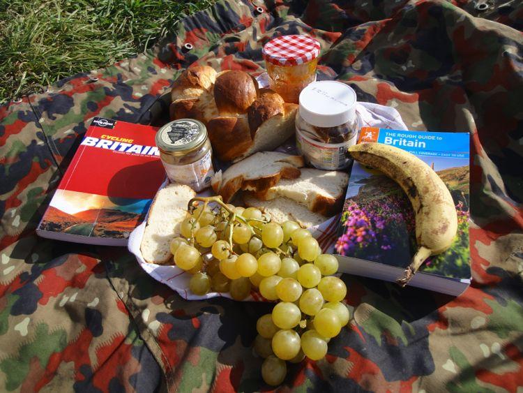Petit déjeuner au Stonehenge