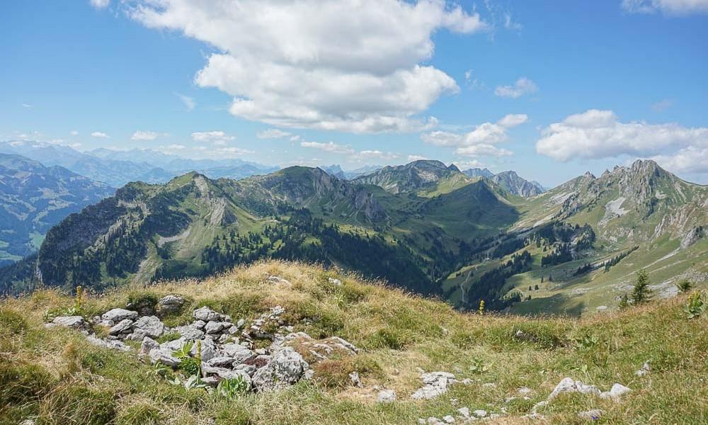 Randonnée dans les Alpes de Wimmis au Gurnigel