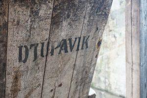 L'ancienne usine de hareng de Djupavik