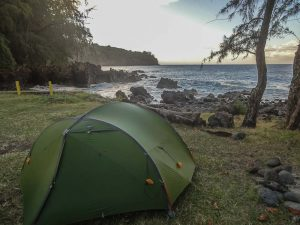 Le camping à Hawaii, ce n'est pas une bonne idée