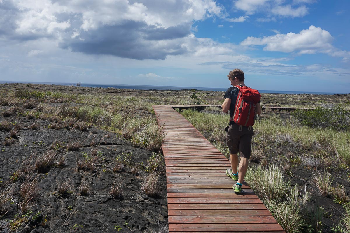 Volcanoes National Park - Hawaii - Pu'u Loa Petroglyphs Trail