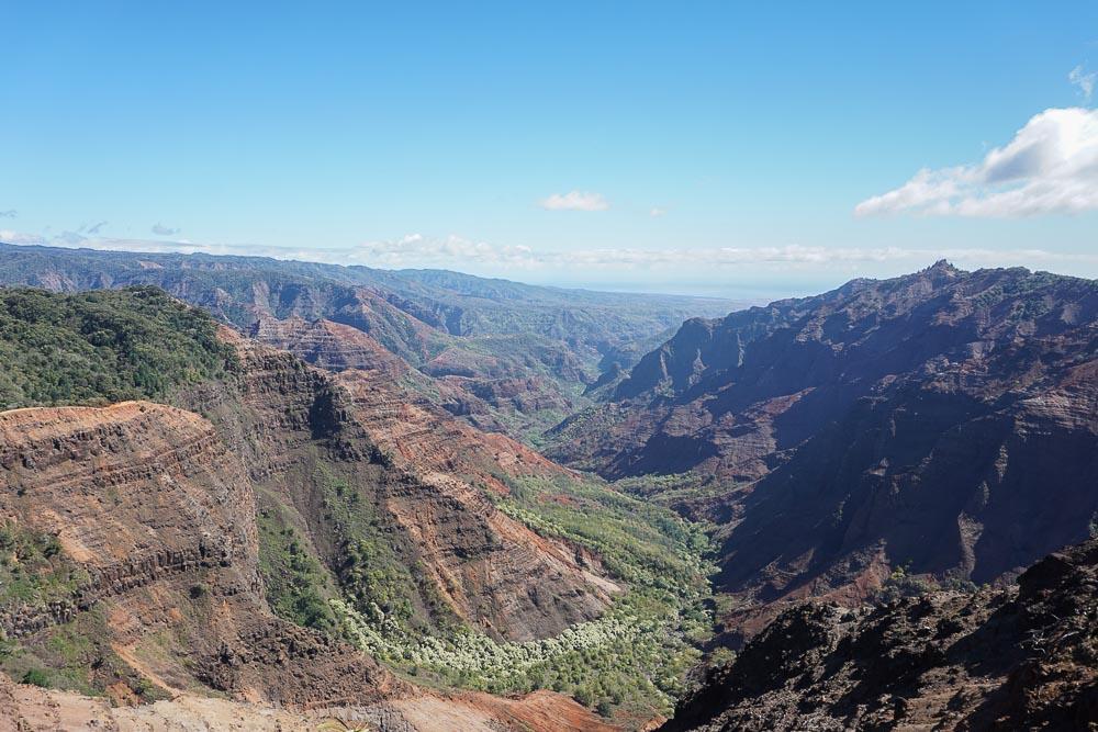 Kauai - Waimea Canyon - Canyon Trail