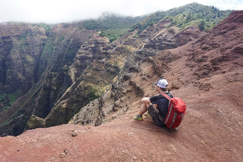 Kauai - Waimea Canyon - Nualolo Trail