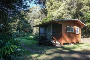 Kauai - Waimea Canyon - The Red Cabin at Kokee Park