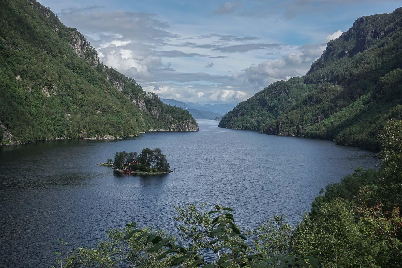 Prenez Place - Une semaine au sud de la Norvège - Paysages de road trip